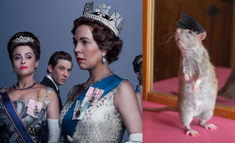 Weird New Episode of The Crown Follows Anthropomorphic Cockney Rat for 45 Minutes: ow.ly/ok4S50CvjXj