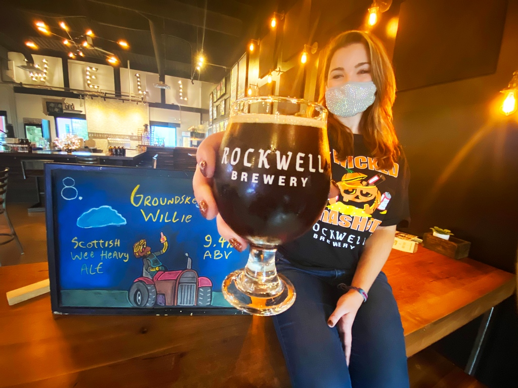🔺 RETURNING BEER! 🔻 Groundskeeper Willie is a Scottish Wee Heavy Ale and it will have you a wee-bit on your ass after a few!  🍺 Come hang out with Nikki tonight for @pourhousetrivia at 6:30pm & @roasthousepub @ 5:00pm!  #rockwellbrewery #craftbeer #drinklocal #frederickmd https://t.co/3NzyOsHBjr