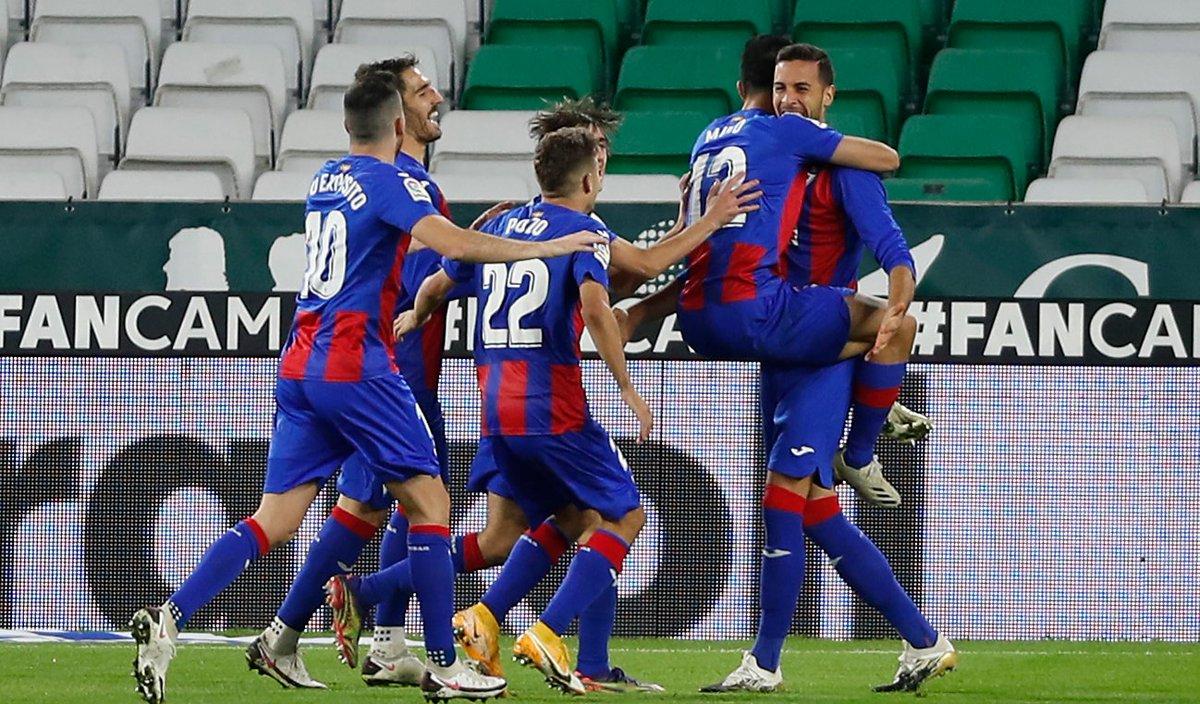 ⚽️ 0‐1 @yoshimuto18 (49') ⚽️ 0‐2 Esteban Burgos (54')  Dream start to the second half for @SDEibarEN! 💙🔥❤️  #RealBetisEibar