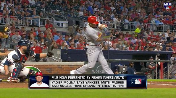 Its not handling a pitching staff, its managing a pitching staff. When you have Yadi behind the plate, its like having a manager out there. BK, Tom Verducci and @DaveValleMLB discussed the market for free agent Yadier Molina on #MLBNow 📺