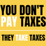 Image for the Tweet beginning: Via taxation:  -#pacifists fund #war -#vegans subsidize