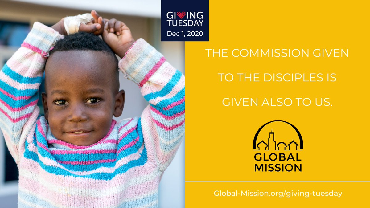 Give your support on December 1 to Global Mission and help fulfill the commission given to us and reach the unreached people in the world. Visit .  #vividfaith #livemorevivid #service #GivingTuesday #GlobalMission