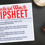 "Image for the Tweet beginning: NEW Judicial Watch Tipsheet: ""Unmasking"