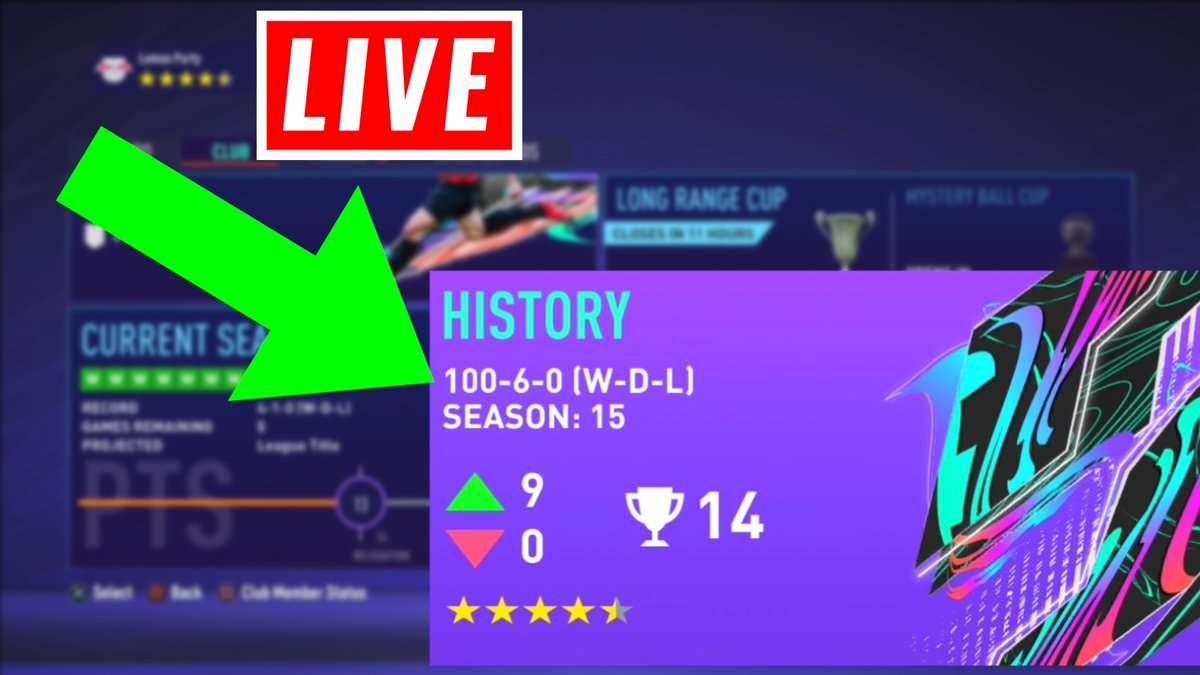 JCC - LIVE Pro Clubs... 100-0. Can we stay unbeaten!?  LIVE: