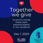 Image for the Tweet beginning: Tomorrow is #GivingTuesday and we