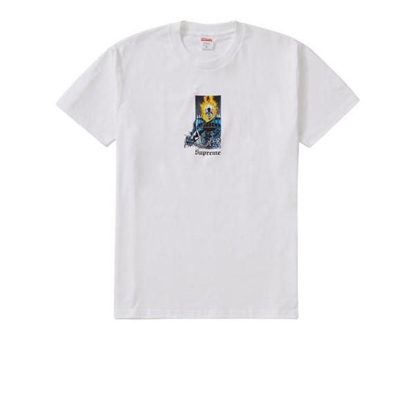 #CyberMonday Sale  Supreme Ghost Rider Tee White in medium now ONLY $85 CAD (originally $175)  ADDITIONAL 10% OFF with code: BFS2020  SHOP: