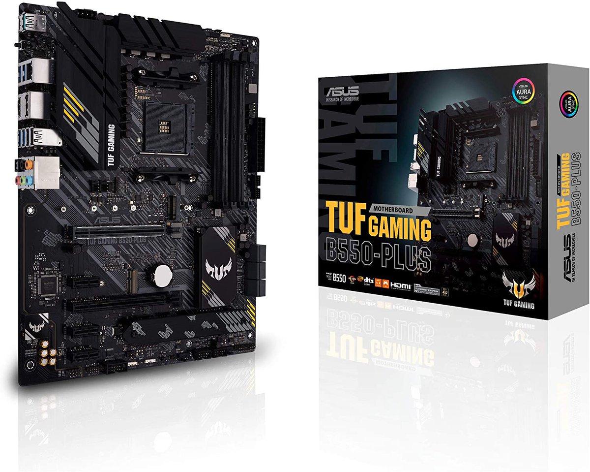 ASUS TUF Gaming B550-PLUS  Only $135.99!  2