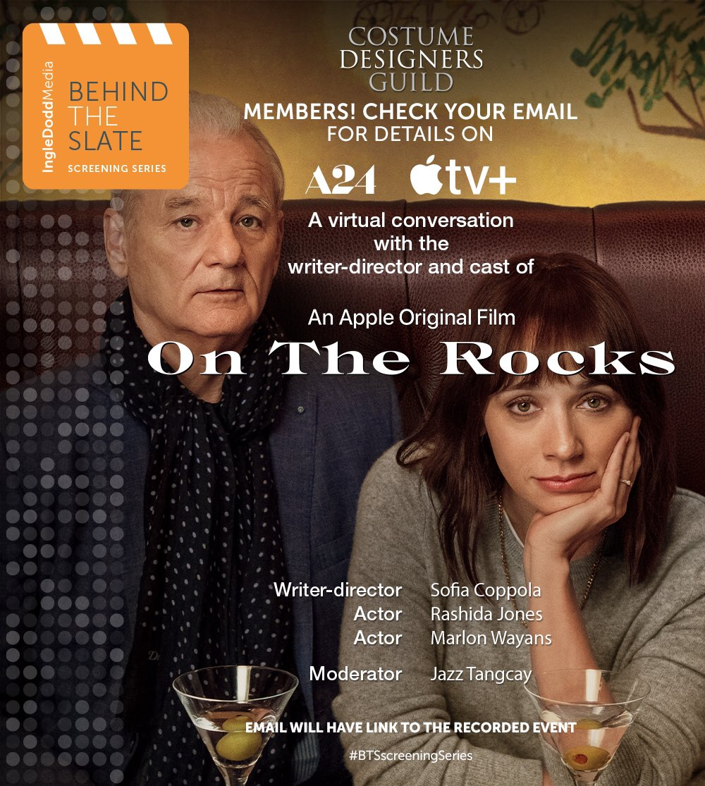 CDG Members! Check your email for more info. @IngleDoddMedia @A24 @AppleTV
