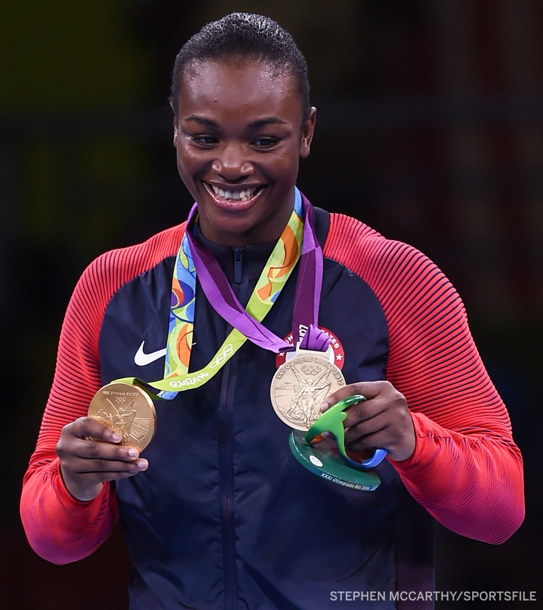 Between newly-signed @Claressashields and women's lightweight champion @KaylaH, the @ProFightLeague roster now touts four Olympic gold medal wins 🥇🥇🥇🥇 https://t.co/Cy2ikFqpVN