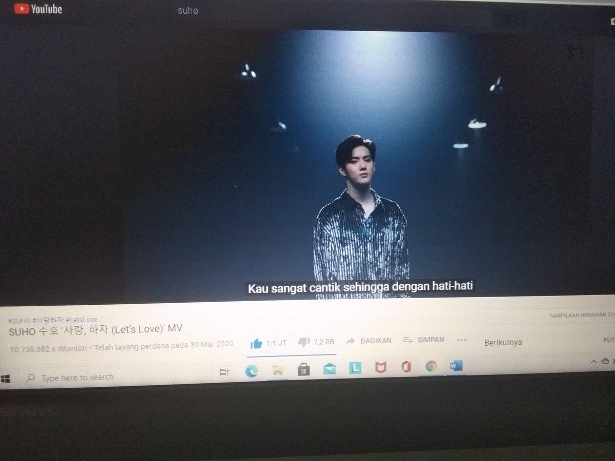 Streaming!! Streaming!!  #EXO #SUHO #LETSLOVE @weareoneEXO