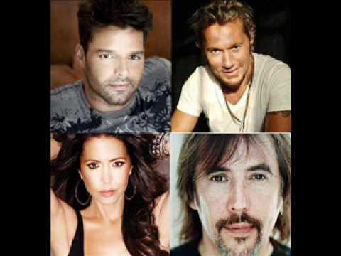 MOMENTO RETRO: Ricky Martin, Diego Torres, Patricia Sosa y Alejandro Lerner: