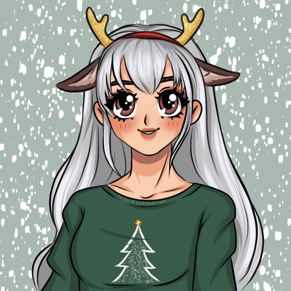 Shm0oo - THANK YOU TO @Tonioverthetop FOR MY BEAUTIFUL CHRISTMAS PFP! I can't wait to be pulling Santa's Sled all night long 🦌🎅🏼