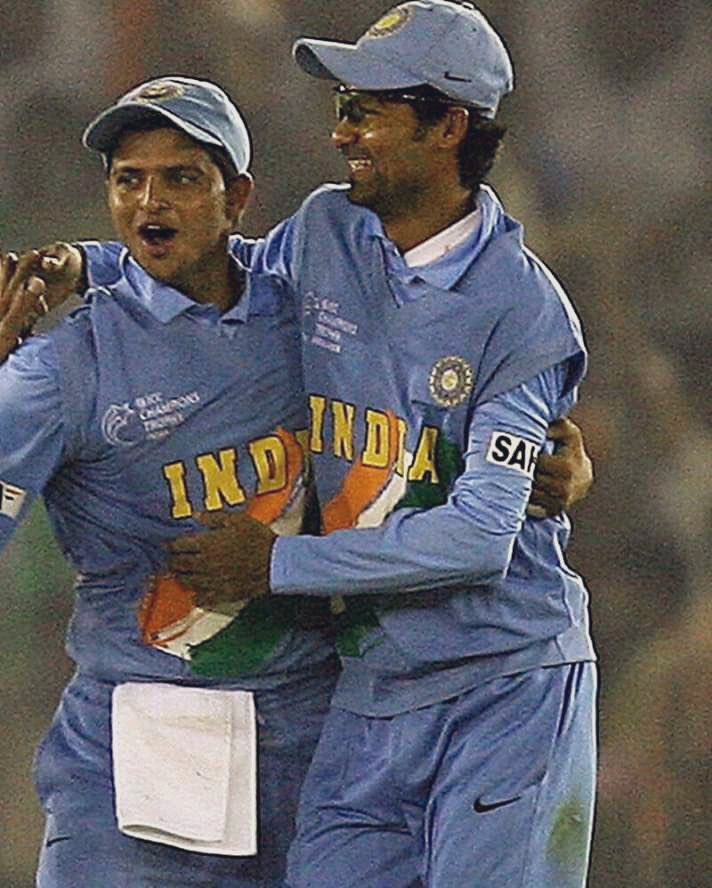 Happy birthday Kaif Bhai @MohammadKaif. Cherishing all our memories of wining Ranji trophy title for UP & all the matches for India. Have a phenomenal day & years ahead. #HappyBirthdayKaif