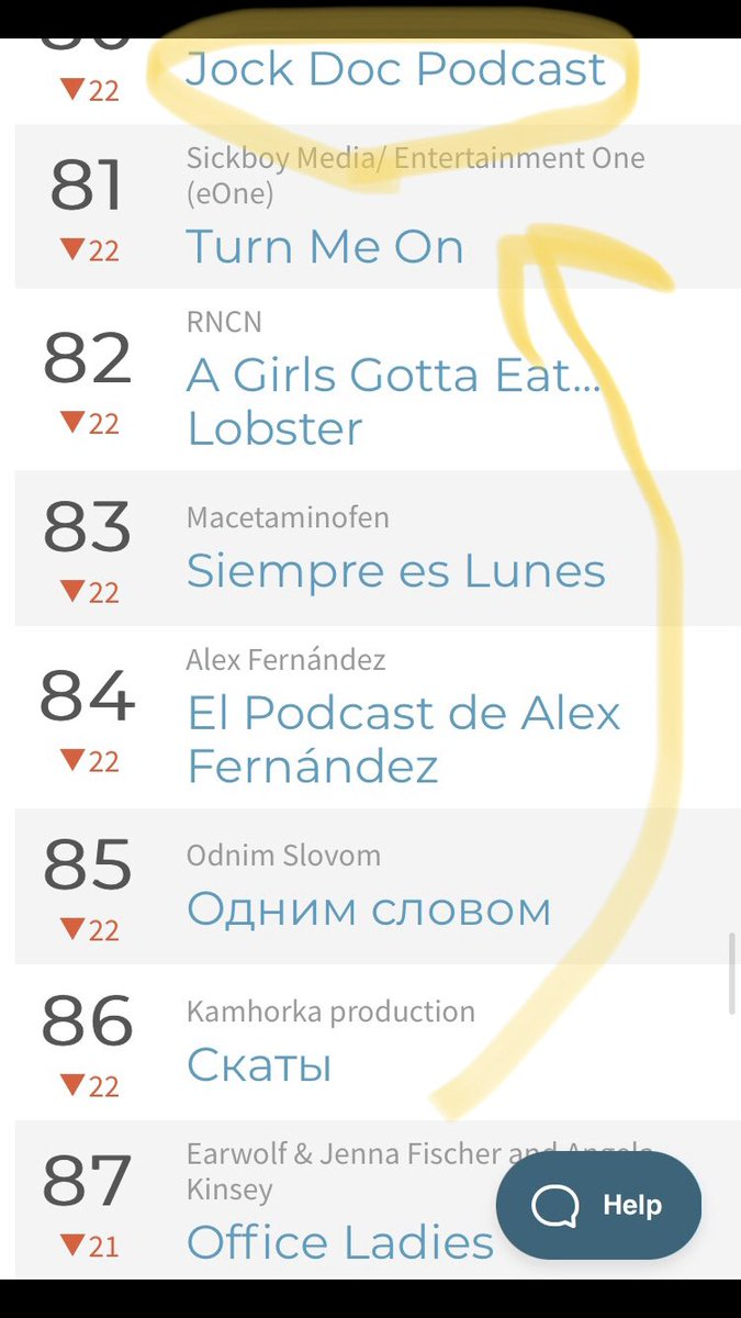 Wow, very sorry to @officeladiespod about falling behind us today in the #Ukraine #ApplePodcast rankings.  But hey, we would love to have you ladies on sometime to help your ratings! https://t.co/4mqGhBNJxL