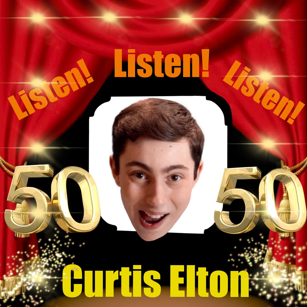 BIG NEWS!!!  This Week's Episode of Listen! Listen! Listen! is Going to be the 50th!!! That's Right! The Big 5-0!  To Celebrate, I've Changed the Profile Picture!!! Enjoy the Show🥳👍  #Podcast #50thEpisode #ListenListenListen #NewLogo #Entertainment #Comedy @ApplePodcasts #Enjoy https://t.co/JFD2TFi8Rj