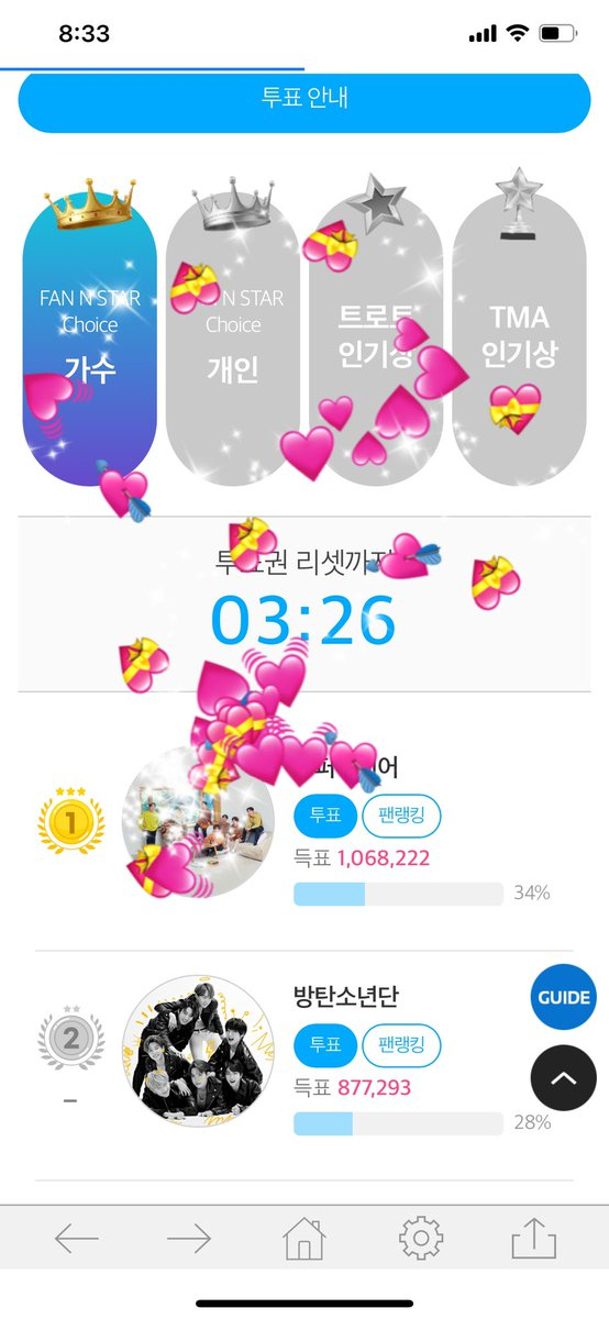 I'm C-ARMY. I need your help. 🙏FAN N STAR is currently behind the 💜 Singer Award and the Popularity Award. 💜 is seven days away from the end, so please help us 💜.   #lifegoeson1onHot100