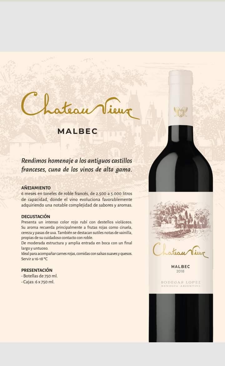 Se van conociendo más detalles del nuevo Chateau Vieux Malbec... #vino #vinoargentino #Malbec #granreserva #ChateauVieux https://t.co/Q7DuWm7NOj