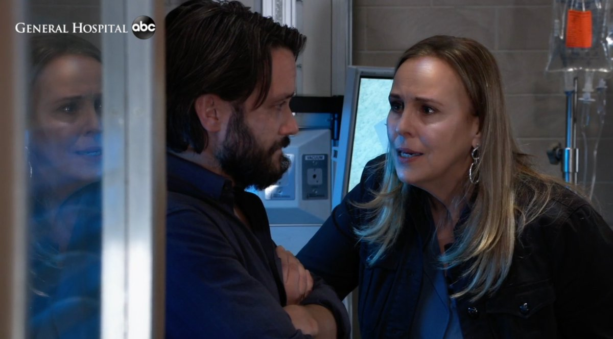 WATCH: Laura and Dante have differing thoughts about Lulu's long-term care. #GH https://t.co/UJhIo0qvHV