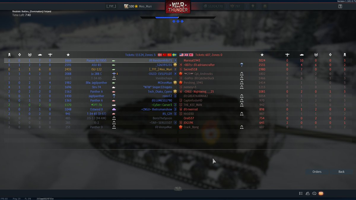 @WarThunder @ROCCAT My favorite tank is the ISU-122s, the gun can oneshot anything if hit, and the reloading rate is fast compared to other tanks using the same caliber gun. The armor is good enough if you can angle it.