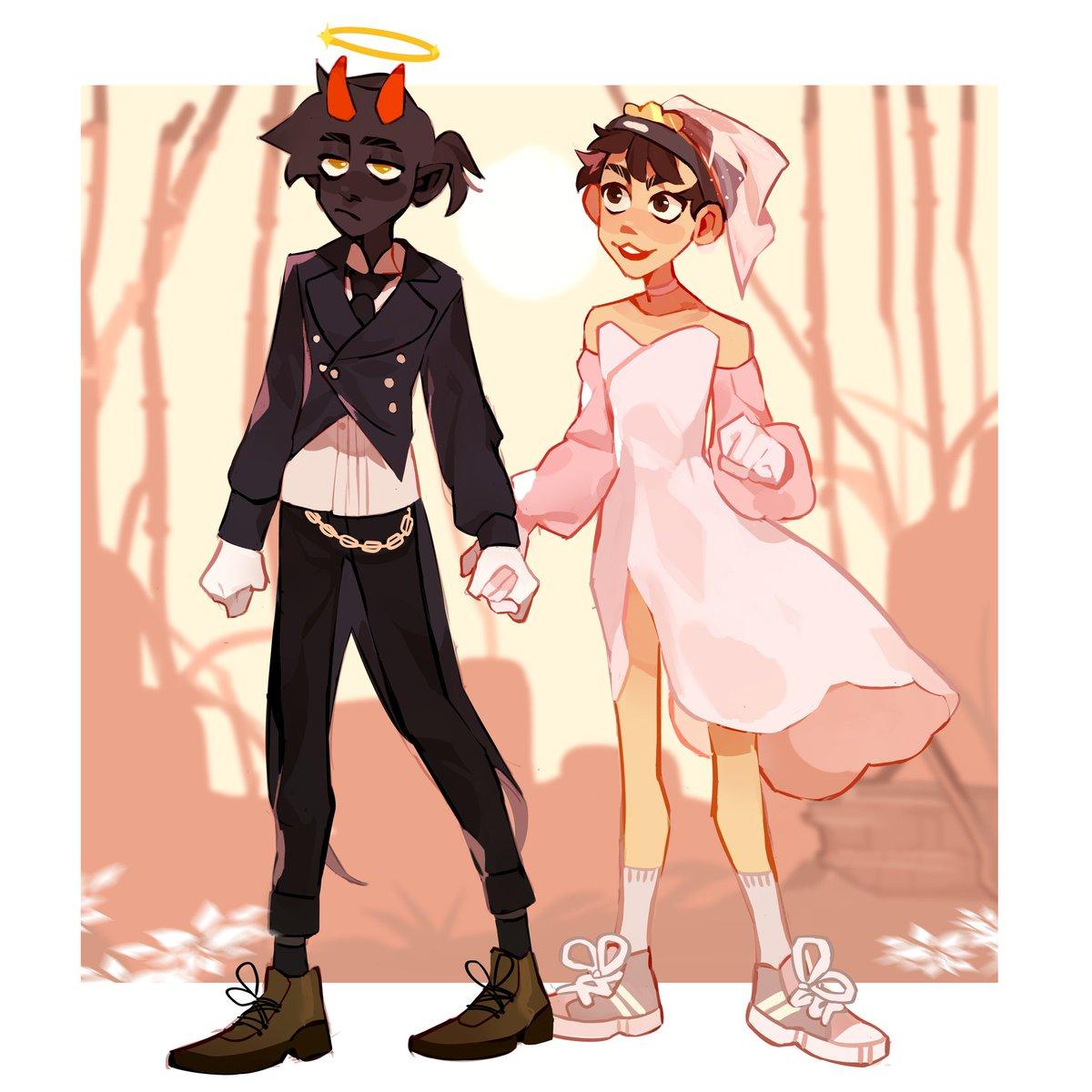 butlerboyhalo and princess quackity are so pwetty UwU #badboyhalofanart #DreamTeam #dreamsmp #bbhfanart #quackitysupport #quackityfanart