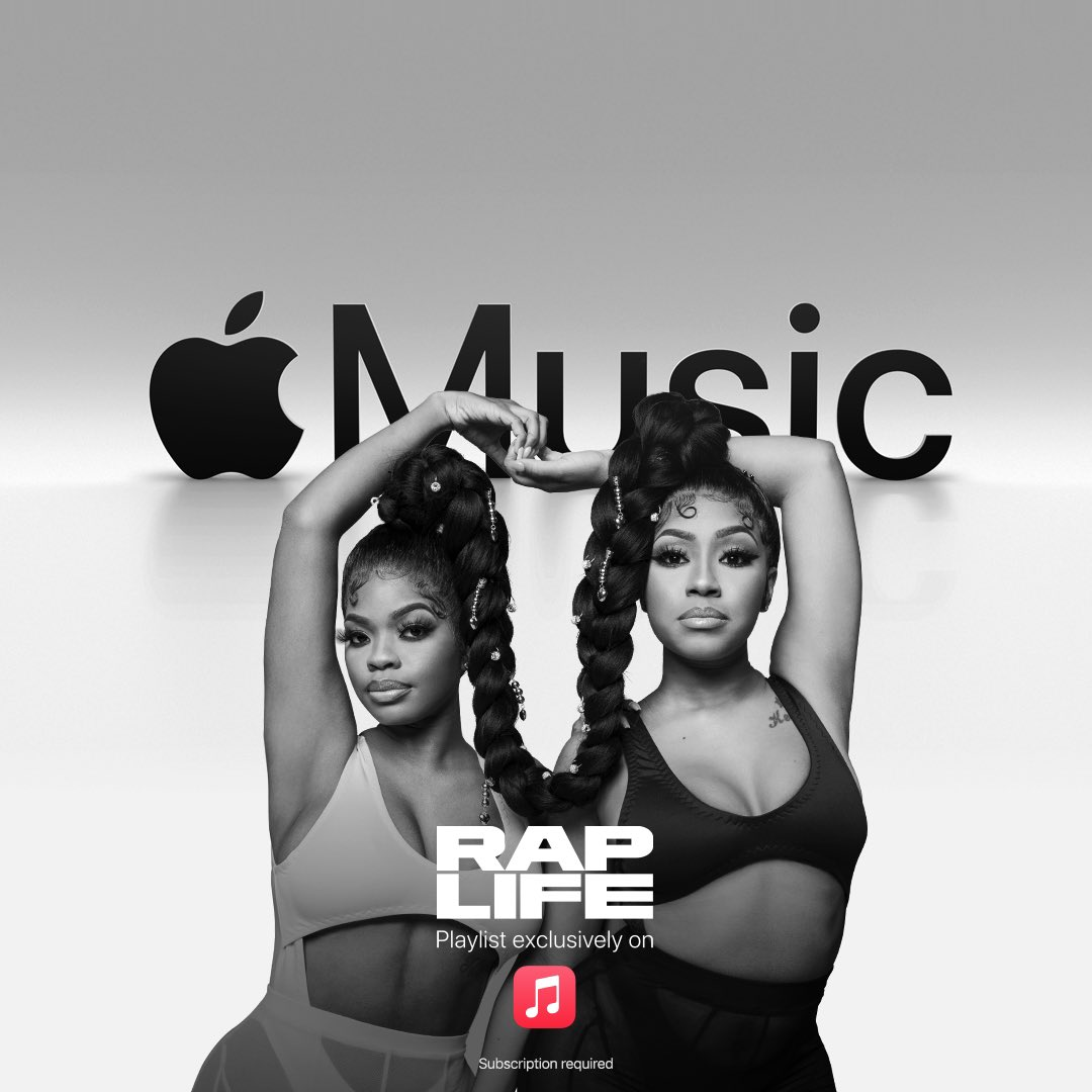 Women are running this game. Listen to #RapLife.   Only on @applemusic.
