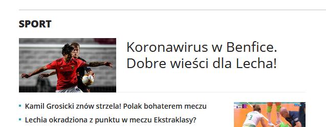 Interia wlasnie siegnela dna #interia #Benfica  #lechpoznan #NationsLeague #koronawirus