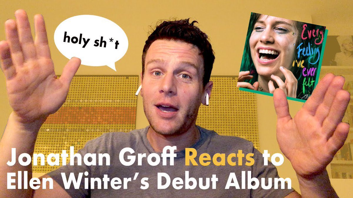Jonathan Groff reacts to @itsellenwinters debut album: youtu.be/PSUb9sO7Fv4