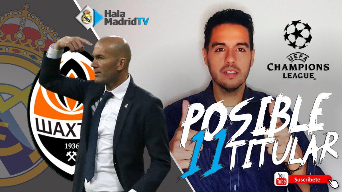 David Jorquera, Director de DC, nos cuenta cuál será el '11' titular de Zidane ante el Shakhtar    #RealMadrid #HalaMadridTV #UCL