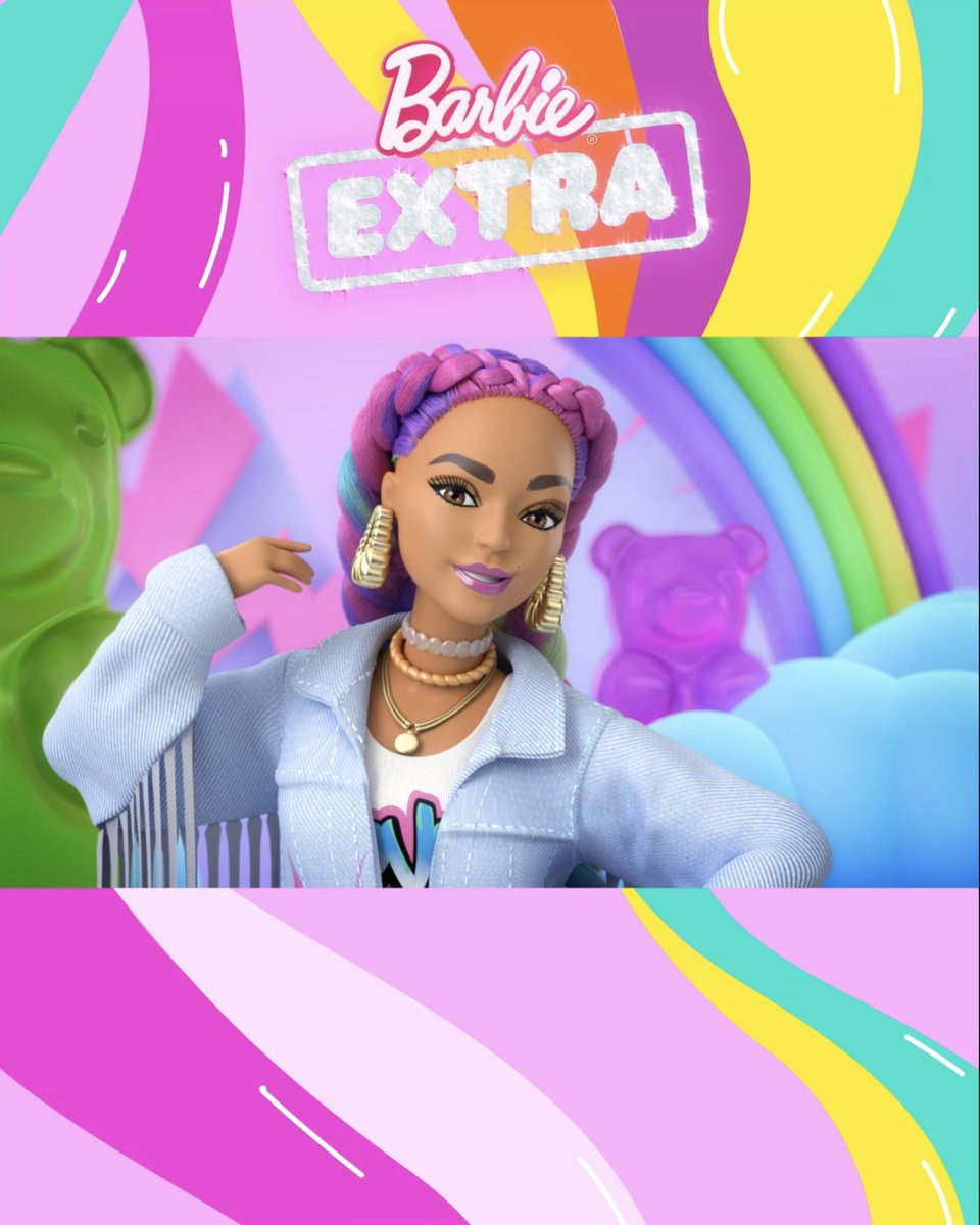 Oh. My. Wow! 📣 Get loud with new music and more looks from #BarbieEXTRA: bit.ly/Barbie_EXTRA_W…