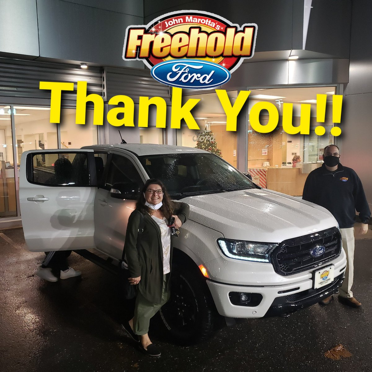 Congratulations Teresa, on your awesome new Ford Ranger from Freehold Ford!!  #freeholdford #fordperformance #FORDMOTORCOMPANY #ford #freeholdfordfamily #freeholdtownship #ranger #fordranger @FreeholdFord @Ford @FordPerformance https://t.co/Gx4SLftkUf