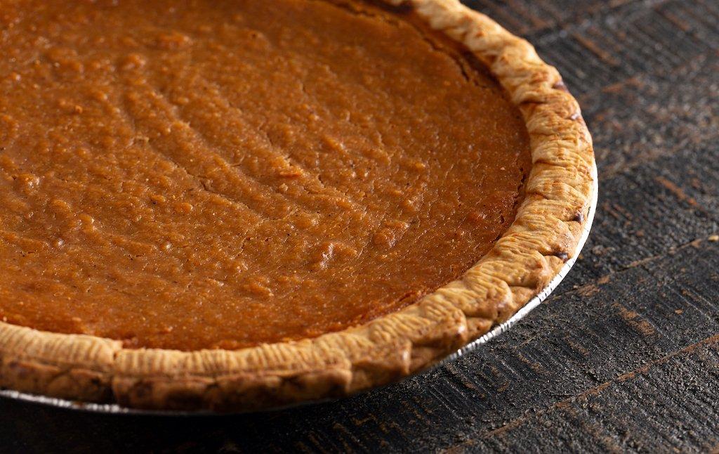 The one pie to rule them all: sweet potato trib.al/R8vg9e2