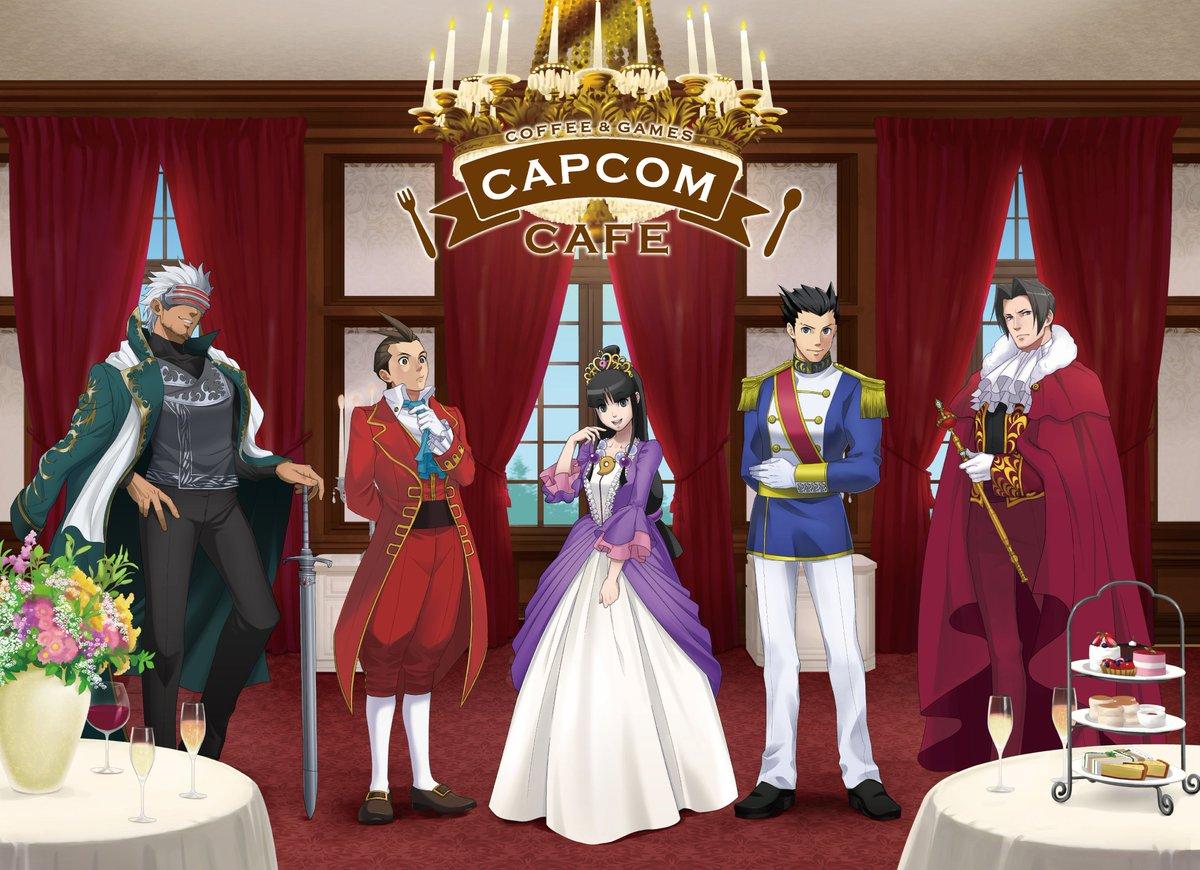 Capcom cafe 池袋商店將在12月24日到2月11日期間,合作開辦《逆轉裁判》系列的主題咖啡廳! EoHYv2KVkAEp4_4