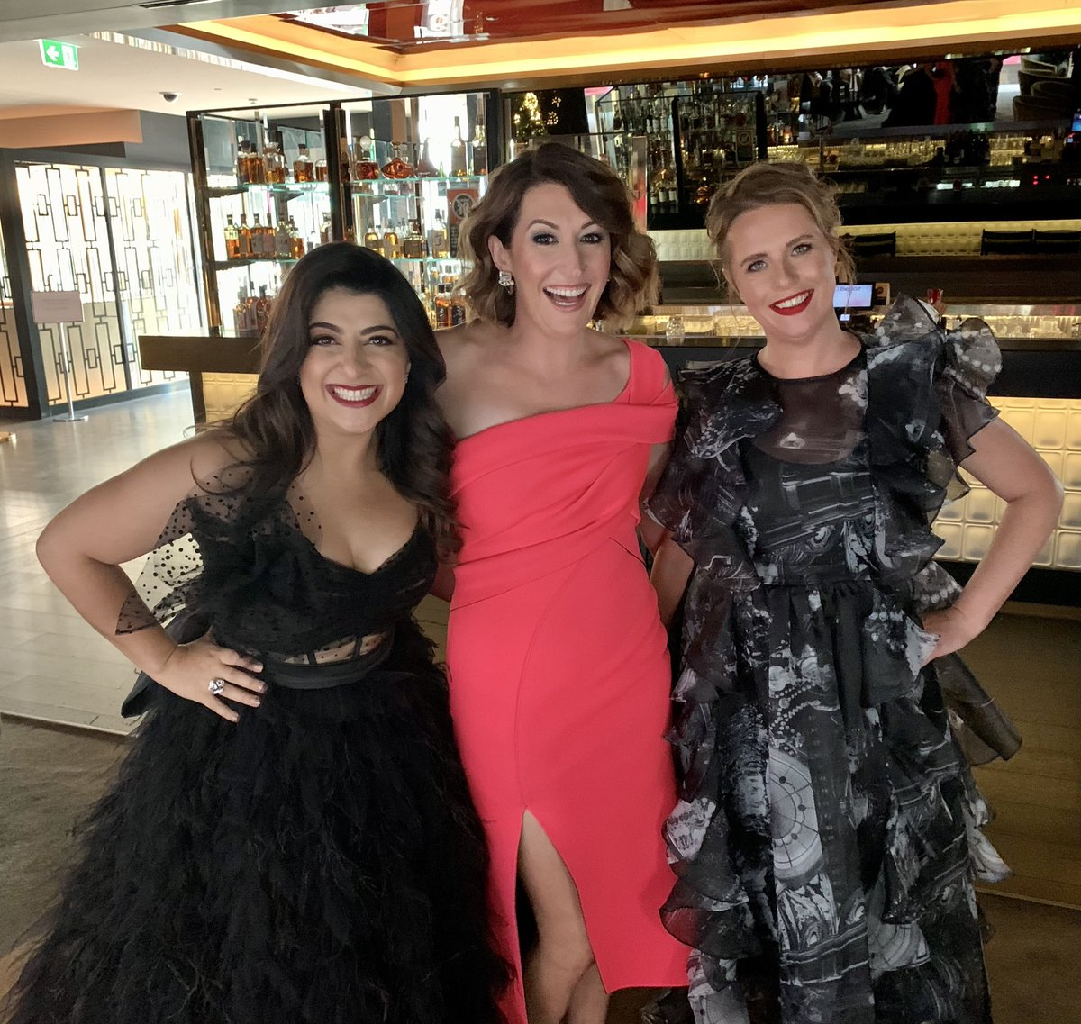 Is it fair that these three are super funny, super smart and super hot? No. It is not fair. Hashtag comedy babes. ⁦@SusieYoussef⁩ ⁦@CeliaPacquola⁩ ⁦@anneedmonds1⁩ #AACTAs