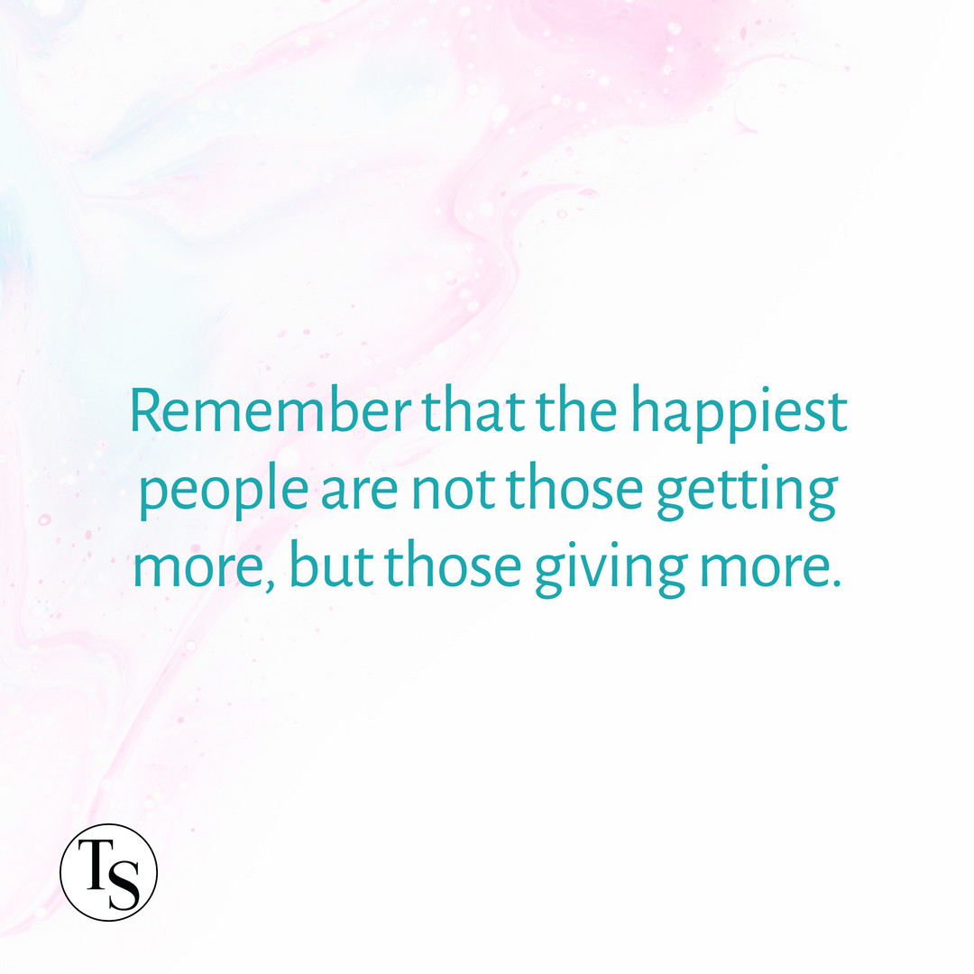 Remember that the happiest people are not those getting more, but those giving more. ―H. Jackson Brown Jr.   #tallgrassspa #giving #wichita #motivational #inspirational https://t.co/11IQ7KrCwE