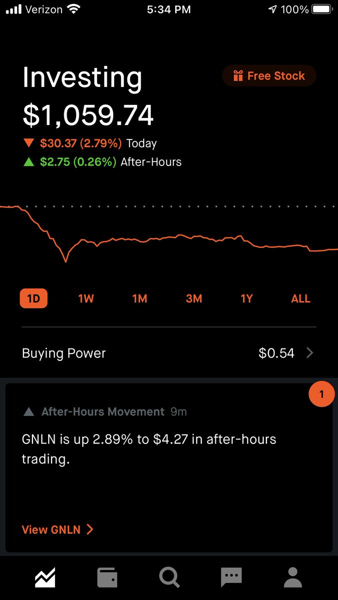 Happy #Monday #DividendHunters,  #Red right out the gate!!! Gotta love #Mondays haha. Big hit for today, but hopefully we can recover tomorrow or before #Friday. Hope everyone else had a #Green #Monday.  Sign up to #RobinHood and claim your #FreeStock:   https://t.co/B82v1Y3UQq https://t.co/F2yLFEObnY