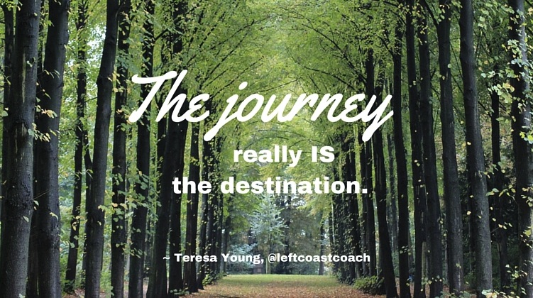 As you BRING IT this week, remember: the journey really is the destination. #MondayMotivation https://t.co/SbQNDlRJS8