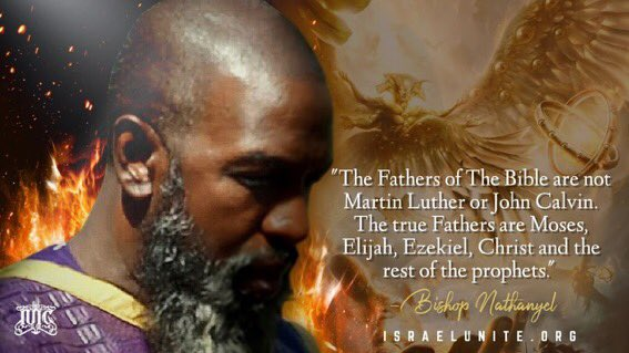 The #Father of the Bible are not #MartinLuther or #JohnCalvin. The true fathers are #Moses, #Elijah #Ezekiel, #Christ and the rest of the prophets! #Wisdom #Theologian #SeminarySchool #IUIC #Leadership https://t.co/lBepeP5pBd