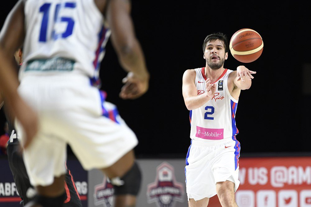 Congrats to @IGandia10 and Team Puerto Rico 🏀🇵🇷 for their 91-85 win at the FIBA Qualifier this evening.