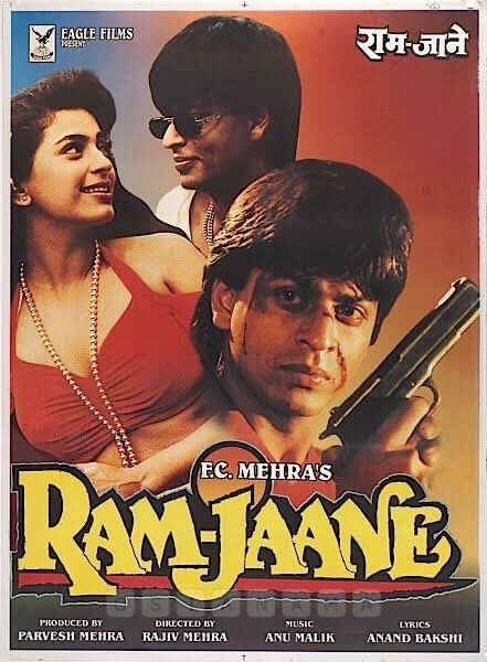 #25yearsofRamJaane - Had loved @iamsrk in an out and out dramatic avtar, especially his dialogue delivery. The film came soon after #DDLJ and shows immense range of the superstar. This one had dark elements to it as well and emerged as a major HIT at the Box Office.
