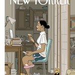「ザ・ニューヨーカー」の今週号の表紙がいい!上半身だけで社会生活できる時代になるのかな?