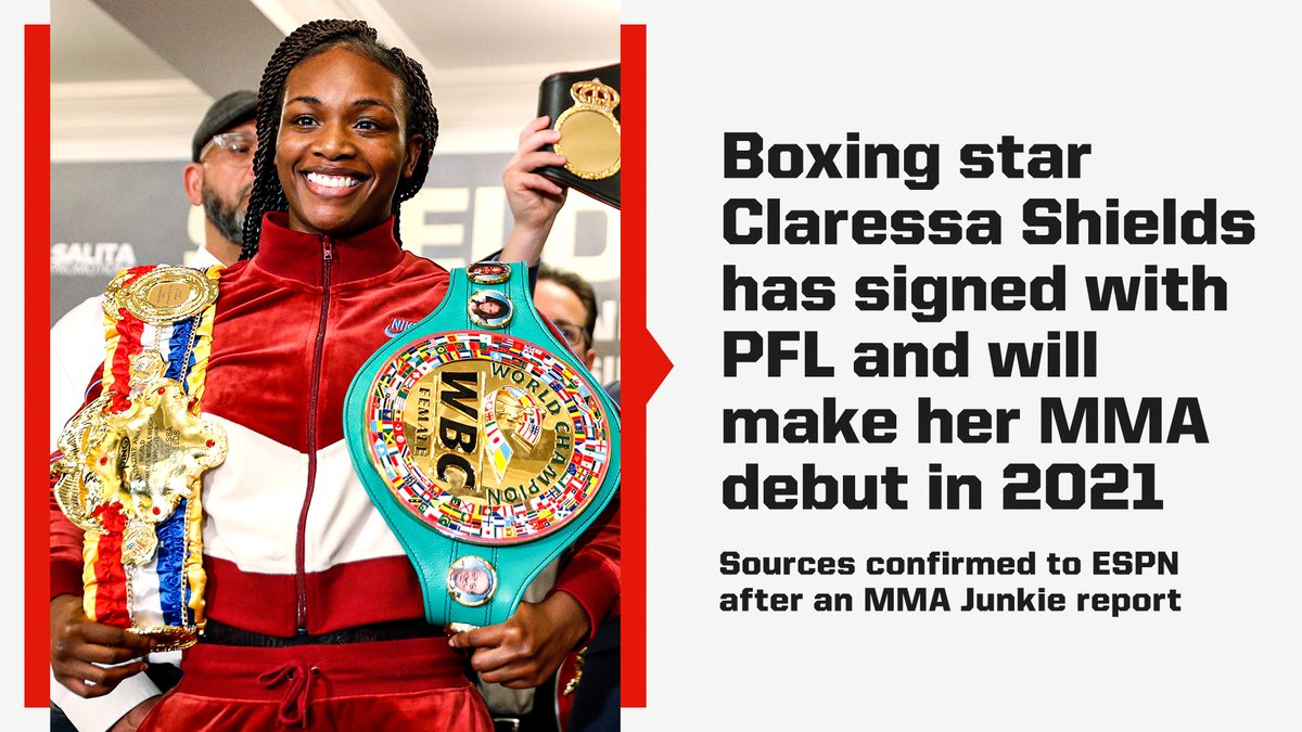 One of the top boxers in the world is making her way to MMA 🤜🥊 https://t.co/aOdoRrJyZW