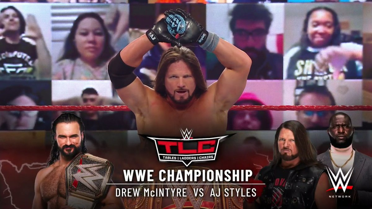 WWE Title Match Announced For TLC