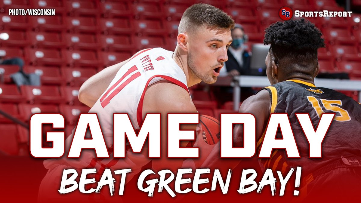 IT'S GAME DAY. GO #BADGERS!!