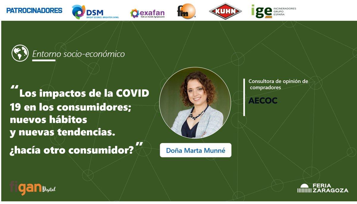 Marta Munné, Consultora de opinión de compradores de @AECOC, continuó con la tercera ponencia analizando el impacto y efectos que tiene en el comportamiento de compra y consumo del consumidor español [VER AQUÍ👉https://t.co/aQQ90JL8pp] en la Jornada Figan Digital. https://t.co/AVFBje6YX2