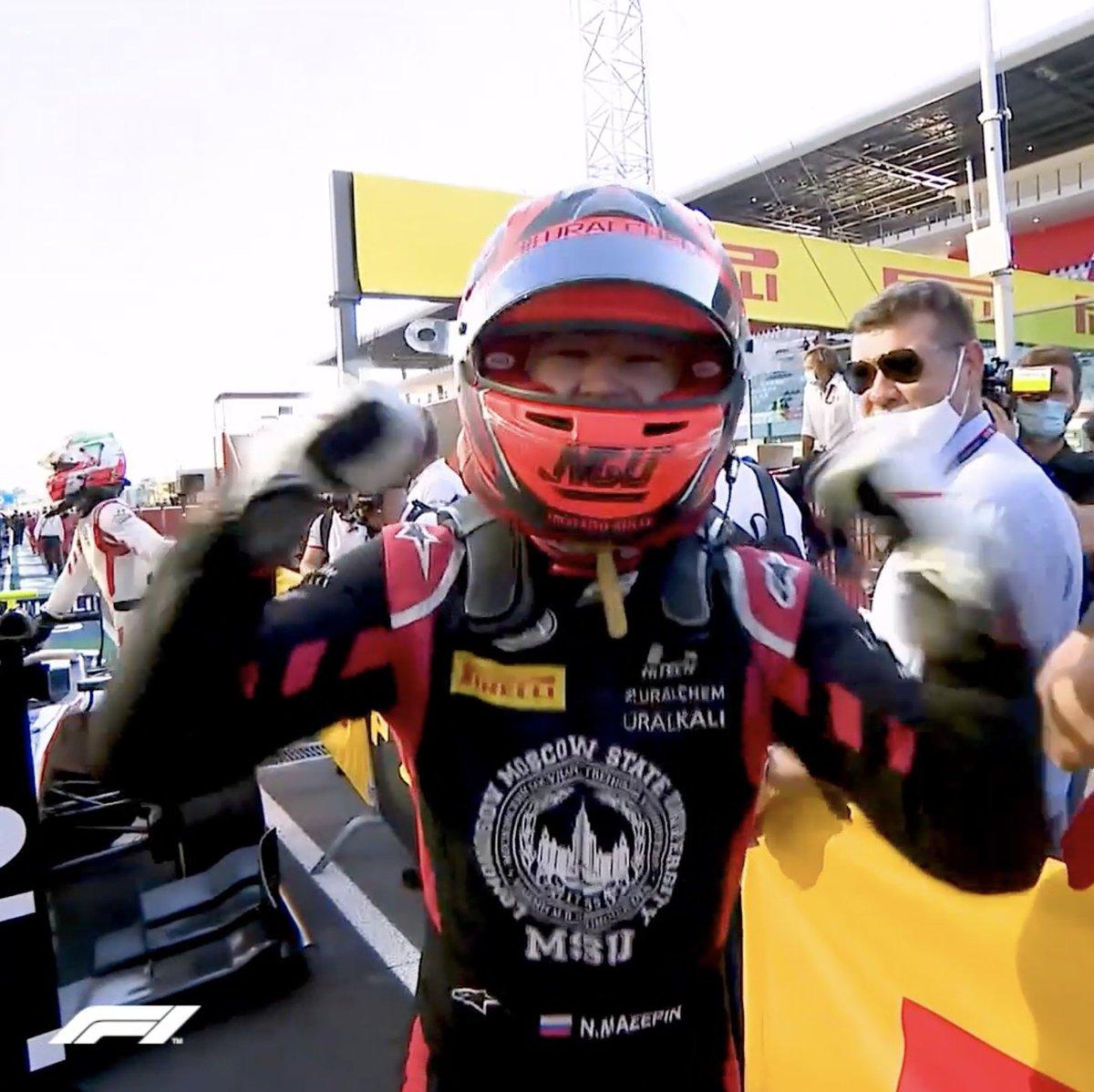 Welcome to F1, Nikita!  #F1 @HaasF1Team https://t.co/ah9EBkpxz1