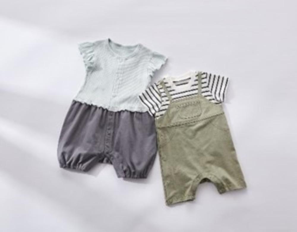 """GUのベビー服「GU baby」誕生、""""セパレート見え""""オールインワン「セパオール」など -"""