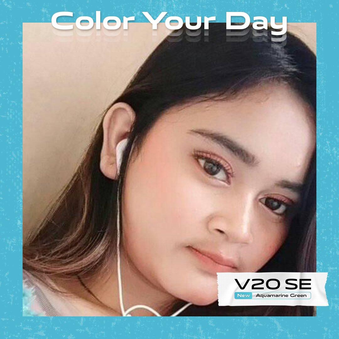 @vivo_indonesia #ColorYourDay  #vivoV20SEAquamarineGreen