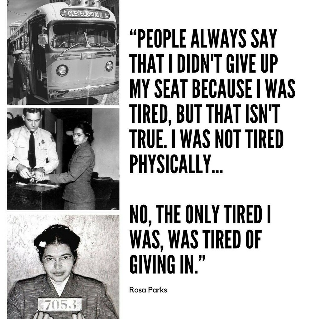 Tomorrow we talk about Rosa Parks on the 65th anniversary of her arrest for not giving up her seat on a bus. We are joined by Madeline Burkhardt, the curator of the Rosa Parks Museum.  @rosaparksmuseum #rosaparks #podcast #podcastersofinstagram https://t.co/6NwIT2wpEp https://t.co/GX8lPmZTtr