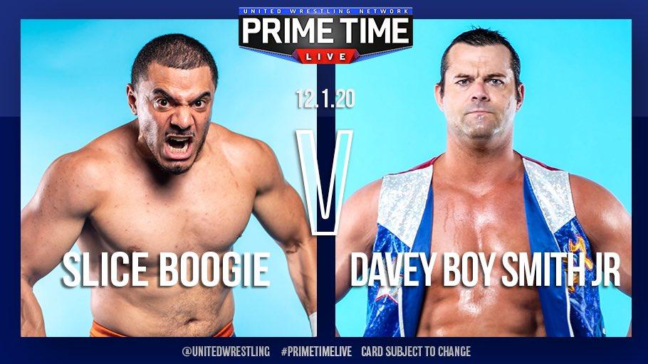 UWN Primetime Live Results: Davey Boy Smith Jr. Makes His Debut, UWN TV Championship Match