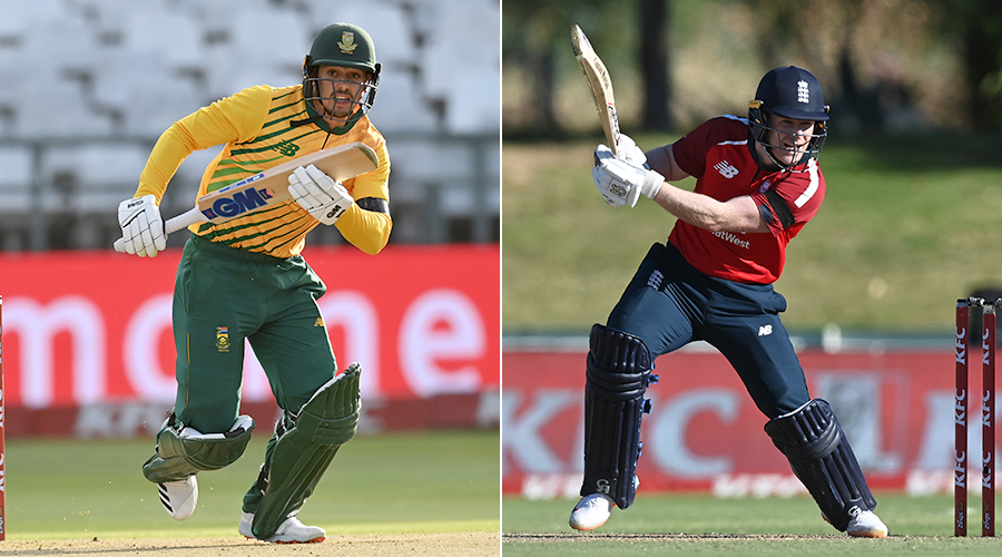 A consolation win for 🇿🇦 or a whitewash for 🏴 – which captain will clinch the 3rd #SAvENG T20I?  Reply with #QDK or #Morgan 👇 & catch LIVE action:  Build-up: 9 PM | Star Sports 1/1HD Match Starts: 9:30 PM | Star Sports 1/1HD/1 Hindi/1HD Hindi/First & Disney+Hotstar VIP